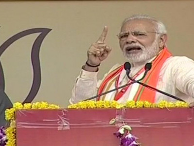 Congress won't debate, busy indulging in mud-slinging: PM Modi in Bhopal