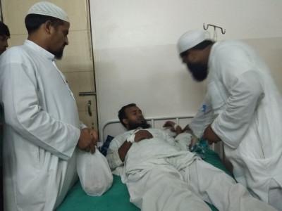 دیوبند کے بخارزدہ مریضوں کے لئے تنظیم ابناء مدارس کا امدادی کام مسلسل جاری
