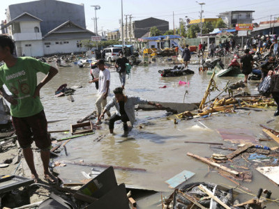 Death toll in Indonesia quake-tsunami reaches 420: Reports