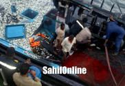 کاروار: ماہی گیر بوٹ میں بھڑکی آگ : تین ماہی گیر شدید زخمی