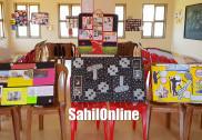 بھٹکل: انجمن پی یوکالج فارویمن میں انگریزی درسی کتاب پر طالبات کے درمیان ''لرن انگلش بائی کالج آرٹ '' انوکھا مقابلہ
