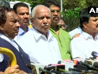 K'tka BJP submits memorandum to Guv over stone-pelting on MLA's house