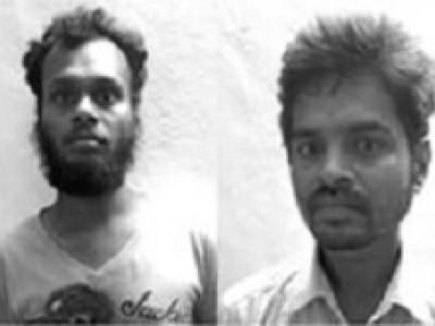 بنواسی میں سپاری چوری کرنے والے 2ملزم گرفتار :16ہزارروپئے مالیت کی سپاری ضبط
