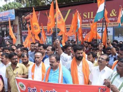 کشمیر میں دہشت گردانہ حملہ :منگلورو میں وی ایچ پی اور بجرنگ دل اور کنداپور میں کانگریس کی طرف سے مذمت