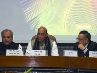 Pak patronising terrorism, Pulwama attack an act of frustration: Rajnath