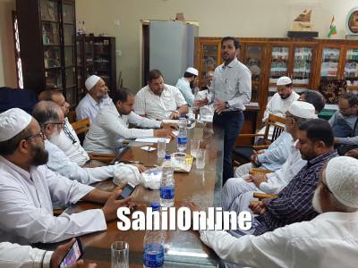 APCR Karnataka State chapter secretary Advocate Niyaz Ahmed visit Uttara kannada