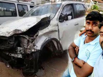 ٹمکور میں سابق وزیر سی ٹی روی کی کار نے 6؍ افراد کو روند دیا ، 2؍ہلاک ،4زخمی
