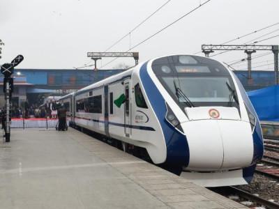 وندے بھارت ٹرین پر پتھرپھینکاگیا، 2 ماہ میں تیسرا واقعہ