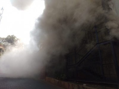 Fire breaks out at City Center Mall, Mangalore