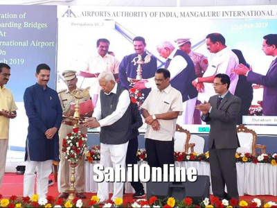 Foundation stone for Mangaluru airport terminal expansion laid