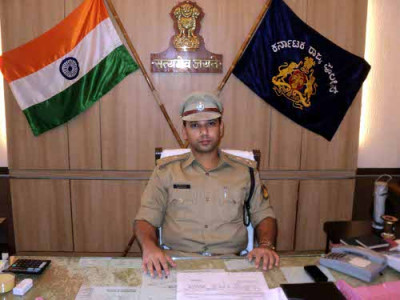Mangaluru: New police commissioner Sandeep Patil takes charge