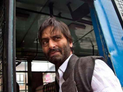 JKLF chief Yaseen Malik detained in J&K