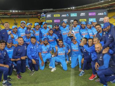 پانچویں ونڈے میں شاندار جیت کے ساتھ ہندوستان کا سیریز پر 1-4 سے قبضہ