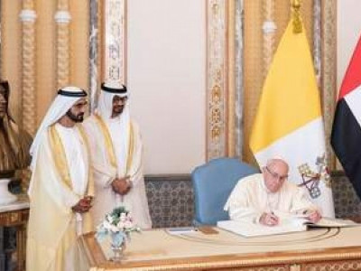 UAE leaders hold wide-ranging discussions with Pope Francis