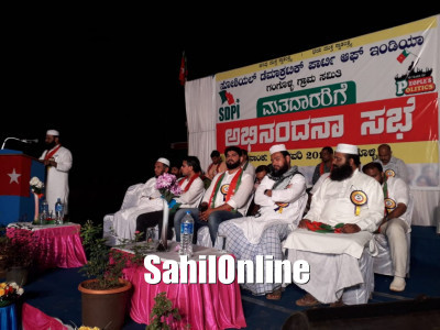 SDPI Gangolli unit thanks voters on electing 4 SDPI candidates in panchayat elections held recently