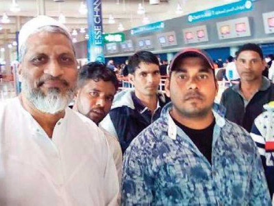 Seven Karnataka fishermen held in Iran return home