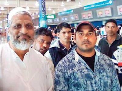 Seven Karnataka fishermen held in Iran return home