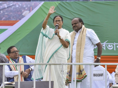 Mamata has all capabilities to lead country: Karnataka CM