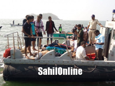 6 die after boat capsizes in Karwar; efforts on to rescue 15 others
