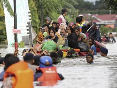 50 killed in Indonesia flash floods triggered by rains, landslides