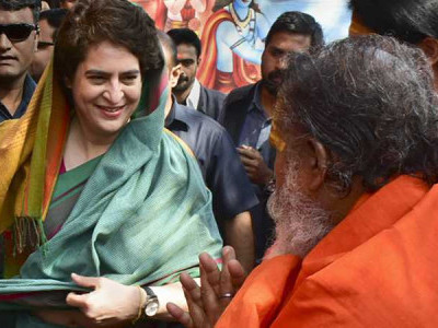 Came out of home as Constitution and country in danger: Priyanka Gandhi