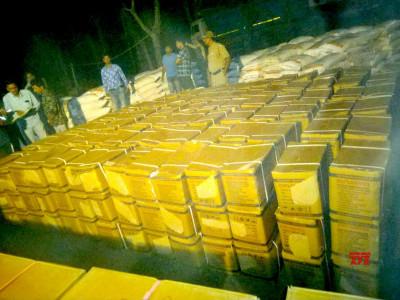 مغربی بنگال: ٹرک سے بڑی مقدار میں دھماکہ خیز مواد برآمد، ایک گرفتار