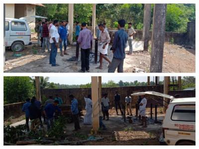 منگلورو کے کڈبا میں مسلم نوجوانوں نے ہندو نوجوان کی آخری رسومات ادا کیں