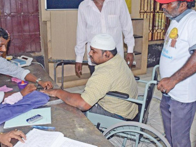 35,000 Wheelchairs, Other Arrangements For Voters With Disabilities