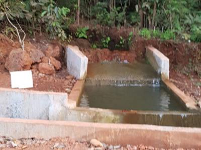 بھٹکل فائر بریگیڈ عملے نے کیا ٹریٹمنٹ پلانٹ سے ضائع ہونے والے پانی کومحفوظ کرنے کا انتظام