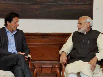 China welcomes Modi, Imran Khan exchanging greetings