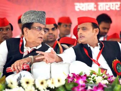 سماج وادی پارٹی کے صدراکھلیش یادو اعظم گڑھ اور رامپور سے اعظم خان انتخابی میدان میں؟