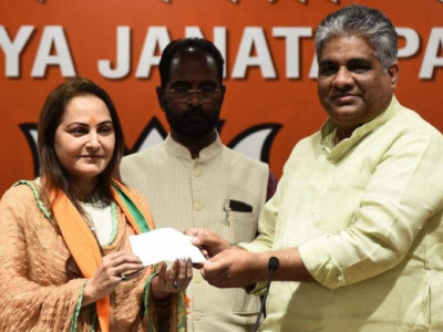 Actor-turned-politician Jaya Prada joins BJP, likely to contest from Rampur LS seat