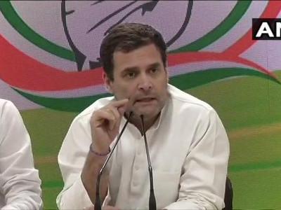 انتخابات سے پہلے راہل گاندھی کا ماسٹراسٹروک، کم از کم آمدنی منصوبہ کیا اعلان