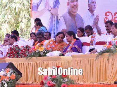 Congress raising old 'Garibi Hatao' slogan: Sitharaman