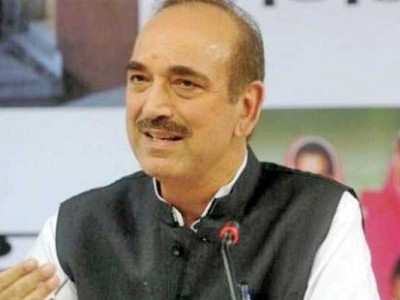 Disappointed at not being allowed to enter J-K, says Ghulam Nabi Azad