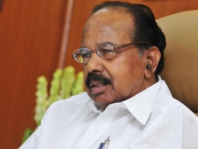 Referendum should be conducted on use of EVM in polls: Veerappa Moily