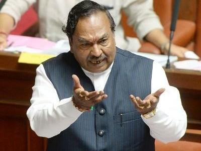 ہندوتوا کارکنوں پر درج ہوئے مقدمات بی جےپی حکومت واپس لے گی : وزیر کے ایس ایشورپا