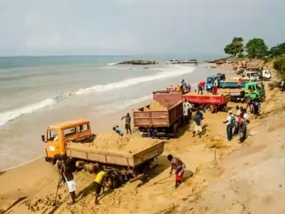 One arrested over Illegal sand extraction in Byndoor