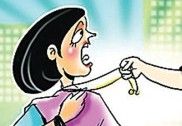 Bike-borne man snatch chain from woman in Kumta