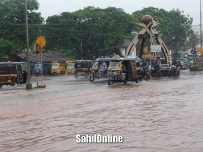 Rains in parts of Belagavi, Uttara Kannada district