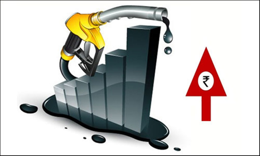 Petrol prices hiked by Rs. 3.38/litre, diesel by Rs. 2.67 ...