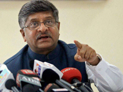 IT Minister Prasad self isolates; met Amit Shah on Saturday