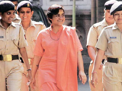 Mumbai: NIA court rejects Pragya Thakur's request for permanent exemption from appearing in the court