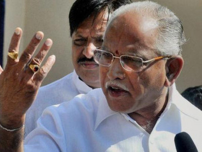 Deve Gowda is fighting on 7 seats, yet dreaming of becoming PM: Yeddyurappa