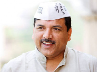AAP's Sanjay Singh writes to Rajya Sabha Chairman over sedition case against him by UP government
