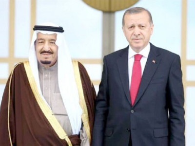 ایردوآن اور شاہ سلمان تعلقات میں بہتری پر متفق