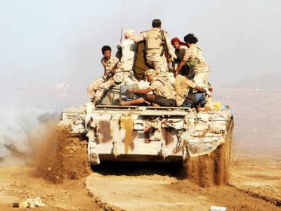 یمنی دارالحکومت کے شمال میں 80 حوثی جنگجو ہلاک ، 100 قید