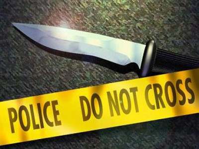 Man attacks wife with knife near railway station