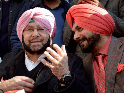 Sidhu wants to be CM, harming Congress with irresponsible actions: Amarinder
