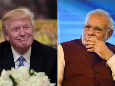 ہندوستان دورہ سے پہلے ہی ڈونالڈ ٹرمپ نے مودی حکومت کو دیا جھٹکا